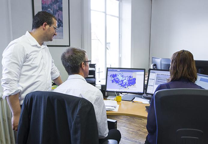 Cartographie du logiciel d'observation financiere et fiscale Reperes