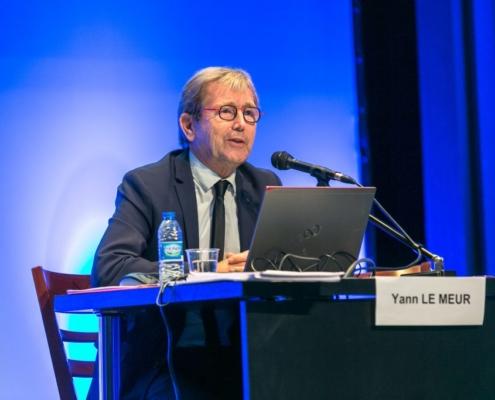 Yann Le Meur lors du seminaire RCF sur le Projet de Loi de Finances