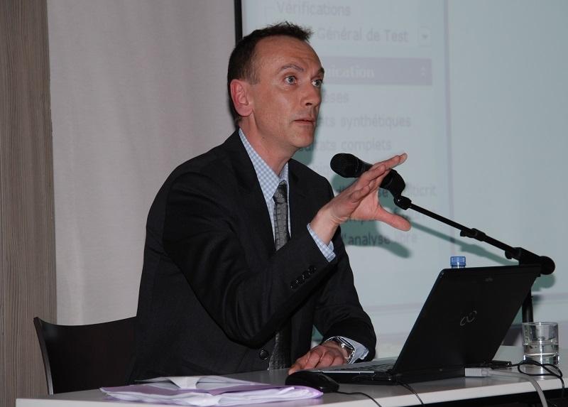 Michael Lecomte presente les rencontres regionales du logiciel Regards