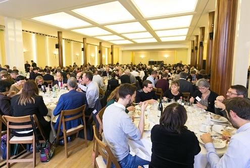 Dejeuner du seminaire RCF sur le Projet de Loi de Finances, Maison de la Chimie, Paris