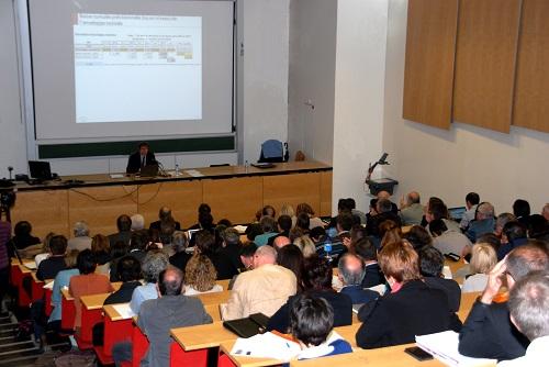 Conference de Yann Le Meur à la fac éco Rennes sur l'avenir des finances locales