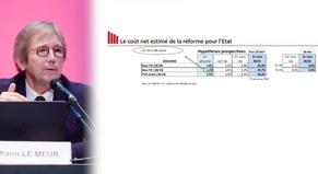 Estimation du coût pour l'Etat de la réforme fiscale à horizon 2030